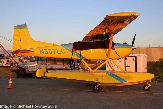 N357LC - 1981 build Cessna A185F Skywagon, parked at Lake Hood