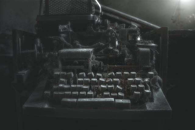 forgotten teletype writer
