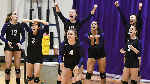 2019 - Westfield State at Amherst College Volleyball