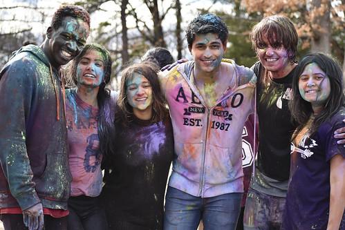 2017 Holi Hindu Festival of Colors