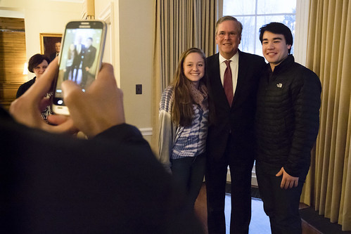 Jeb Bush Address Full House at Johnson Chapel Jeb Bush Address Full House at Johnson Chapel