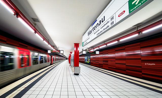 U Bahnhof Wartenau in Hamburg