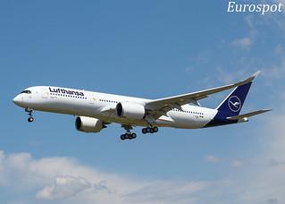 F-WZHG Airbus A350 Lufthansa