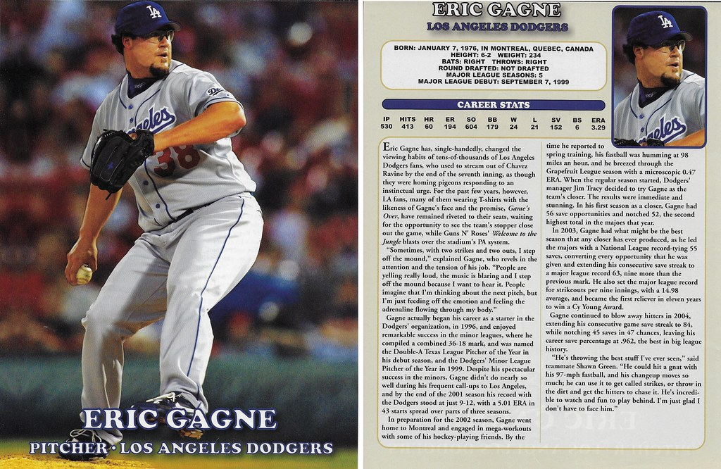 2005 East End Publishing Superstar Album Posters - Gagne, Eric