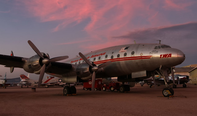 Lockheed L-49 (C-69) Constellation N90831
