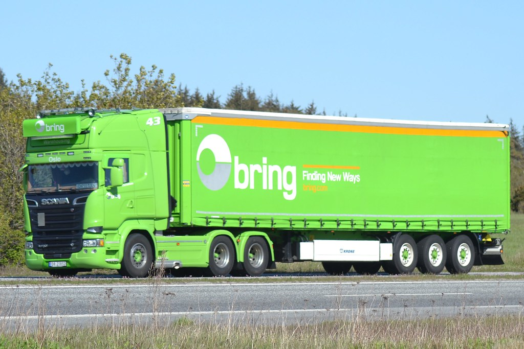 Scania R 730 V8 - Bring Norway  - 43 - N  DR 21852