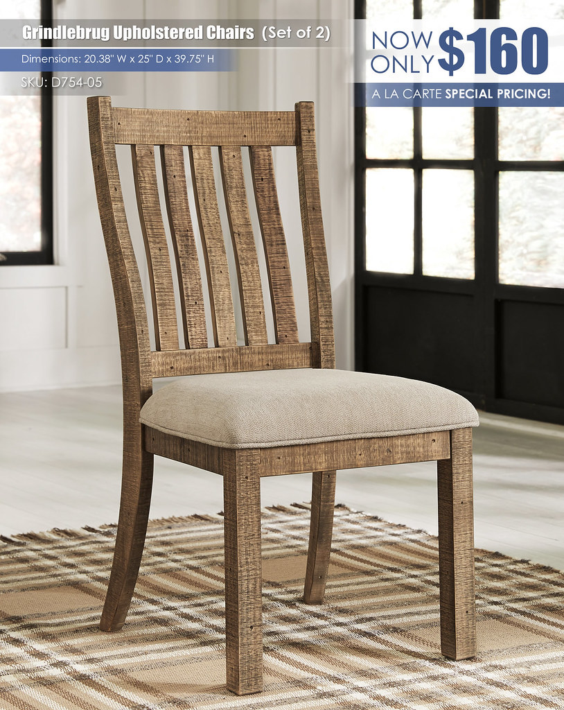Grindleburg Chairs_Set of 2_D754-05