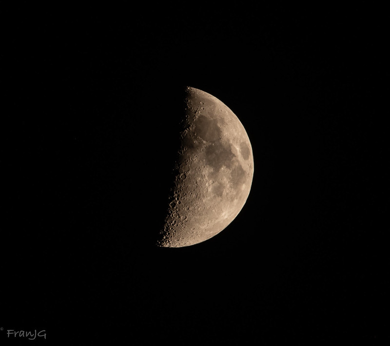 End of May Quarter Moon