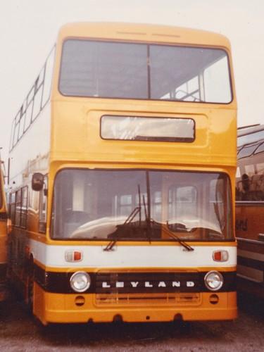 Unregistered (but I think it became Q246 FVT). 'Stevensons Bus Services'. Leyland Olympian / Eastern Coachworks  on Dennis Basford's railsroadsrunways.blogspot.co.uk'
