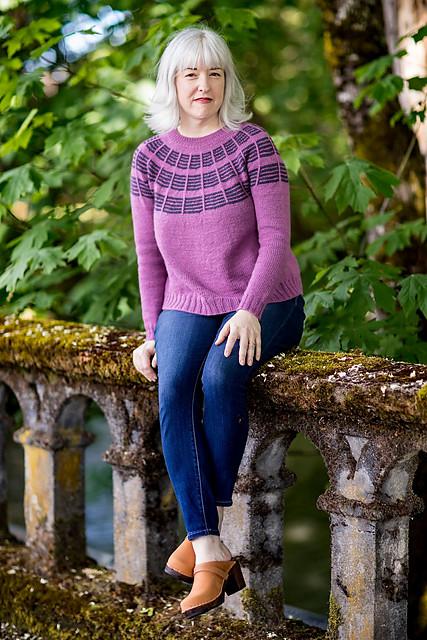 Olive Knits 4 Day KAL sweater Soundtrack