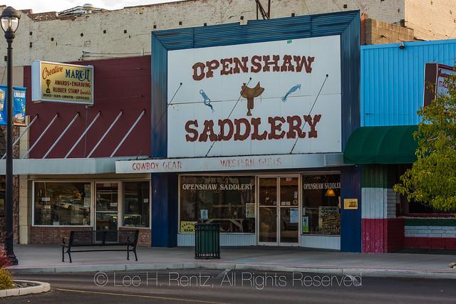 Openshaw Saddlery in Fallon, Nevada