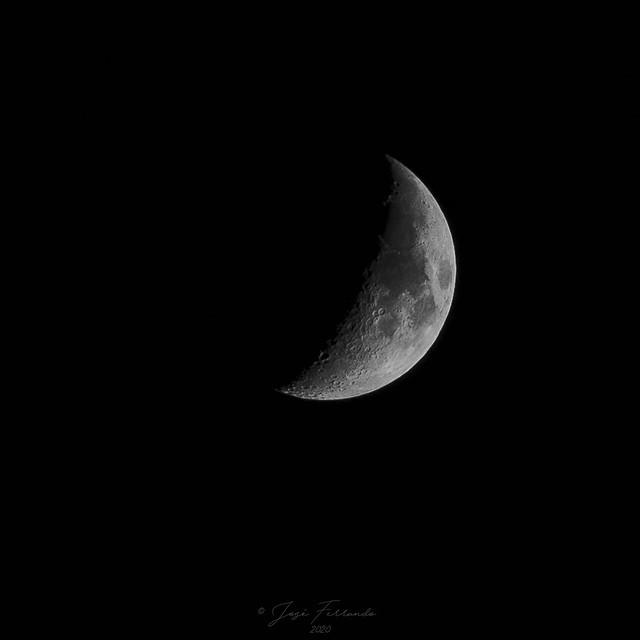 Un trocito de luna...