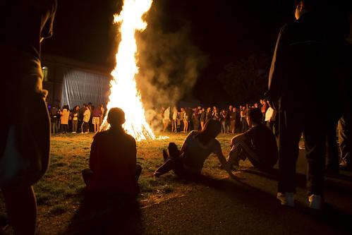 Homecoming 2017 Bonfire