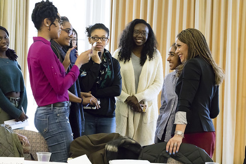 Melissa Harris-Perry speaks at Johnson Chapel; Meets with Students