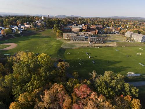 Aerials of Amherst College