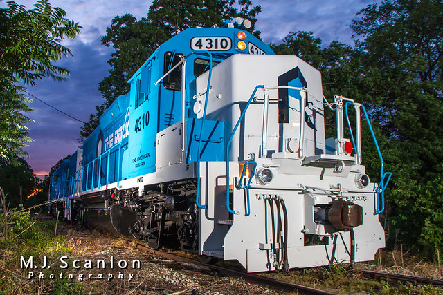 RILX 4310 | EMD GP38 | Rock Island Rail