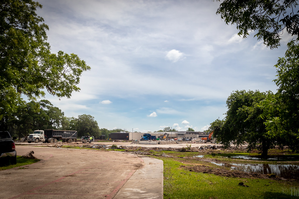 Demolition and Construction: Bess Brannen Elementary School, Lake Jackson