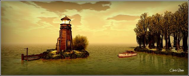 Lighthouse at Serena Falls