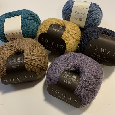 Restock of Rowan Felted Tweed including some new colours