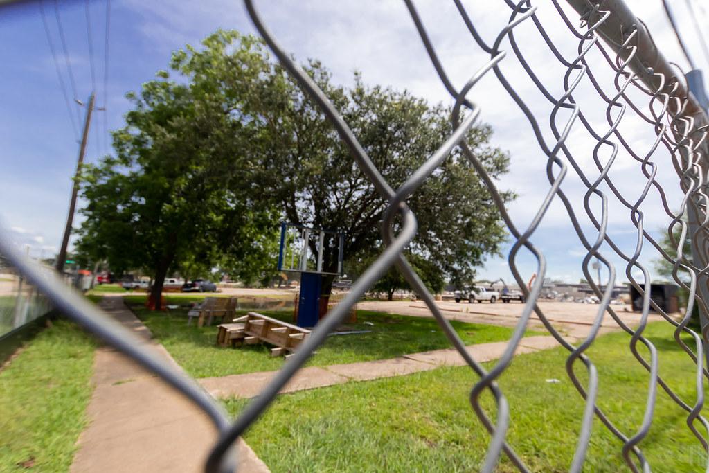 Original site of Bess Brannen Elementary in Lake Jackson.