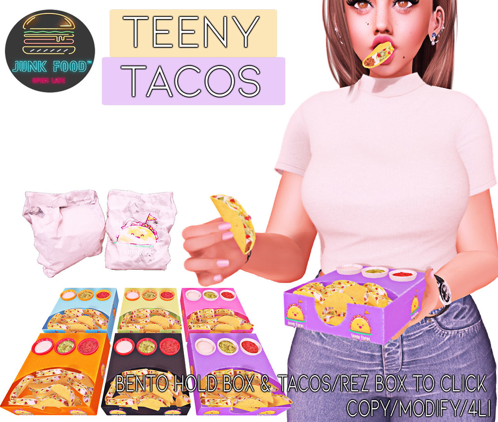 Junk Food -Teeny Tacos Ad