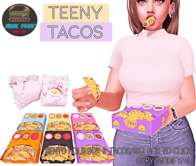 Junk Food -Teeny Tacos Ad