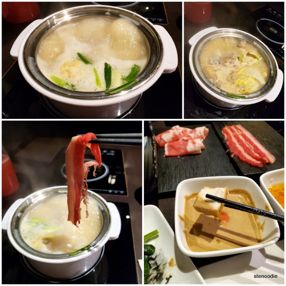 Legend Pot hot pot dinner