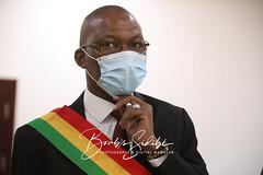Honorable MOUSSA TIMBINE, Président de l´Assemblée nationale du Mali. Crédit photo © Boub´s SiDiBÉ