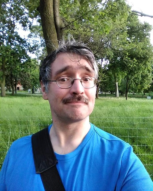 Me, shorn, at Queen's Park, 7:22 pm #toronto #me #selfie #queenspark #instagay