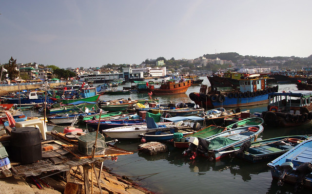 A clutter of Boats