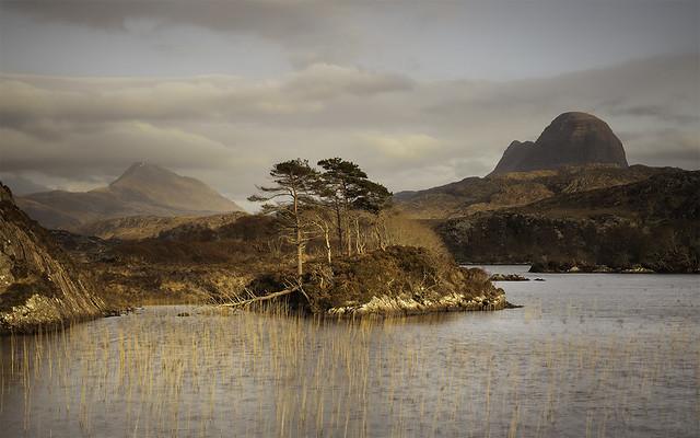 Suilven from Loch Druim Suardalain