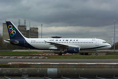 A320 SX-OAS Olympic new