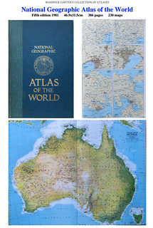 National Geographic Atlas of the World Fifth edition 1981