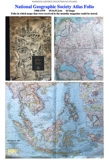 National Geographic Society Atlas Folio 1960-1970
