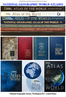 NATIONAL GEOGRAPHIC WORLD ATLASES
