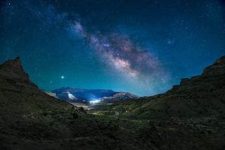 Cameo Milky Way