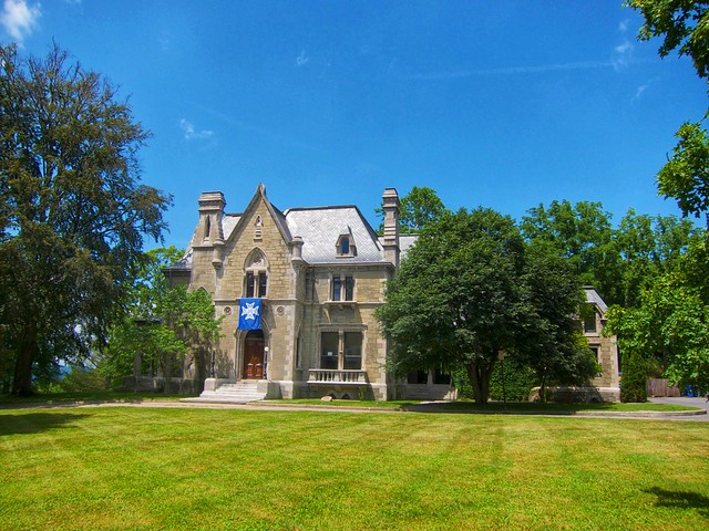 Ithaca - New York - LIenroc - Gothic Mansion for Ezra Cornell  - Cornell University