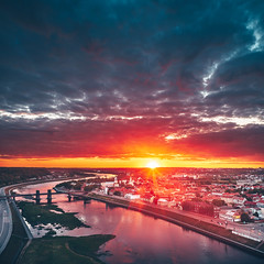 Red | Kaunas aerial #150/365