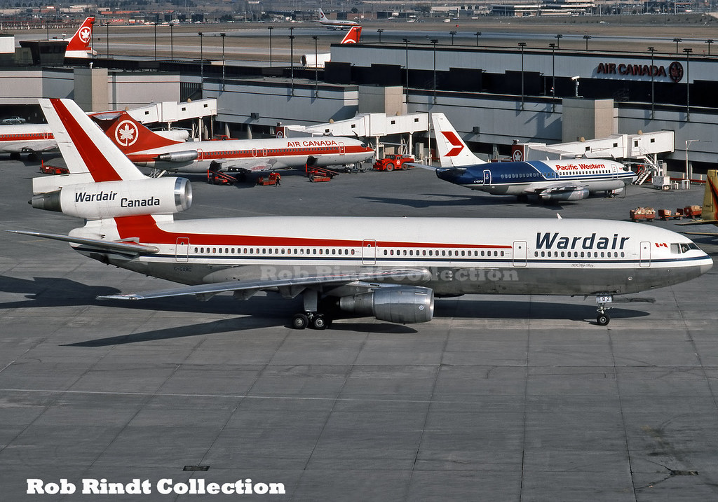 Wardair Canada DC-10-30 C-GXRC