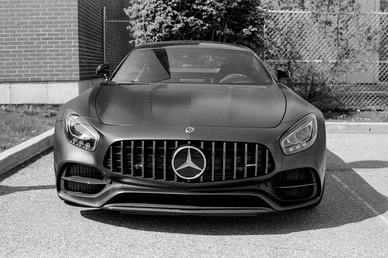 Mercedes AMG Coupe Grille_