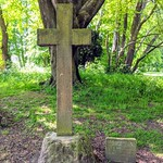 Old cross at Moor Park