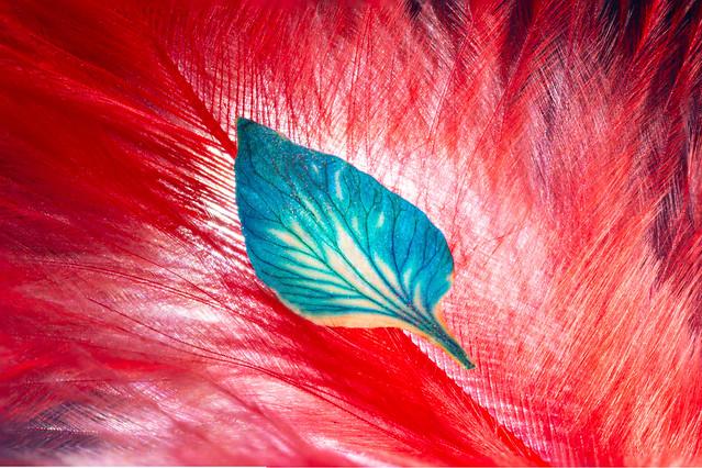 The blue Leaf