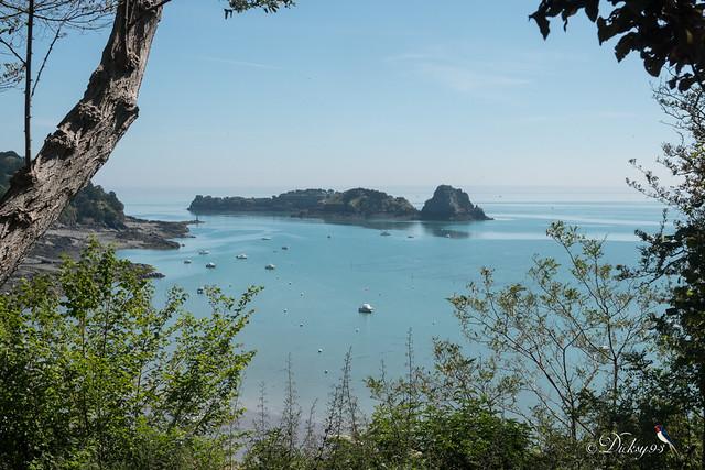L'île des Rimains, l'îlot le Châtellier et le rocher de Cancale