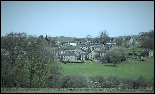 The Village of Longnor,Staffordshire.