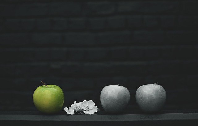 Une, deux, trois pommes...