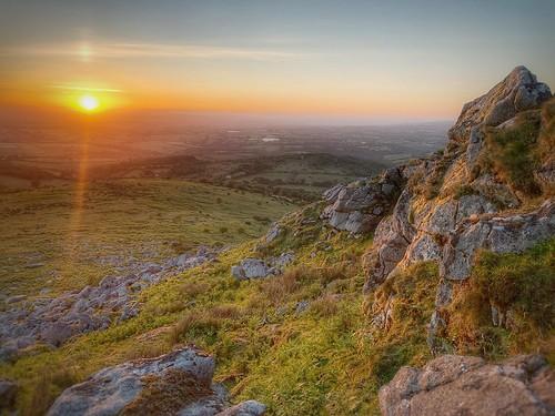 granite view earlymorning tor cornwall bodminmoor sharptor sunrise