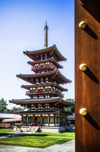 West pagoda, Yakushi-ji, Nara