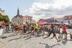 City Cross Run & Walk Česká Lípa nadělil sportovcům knarozeninám půlmaraton