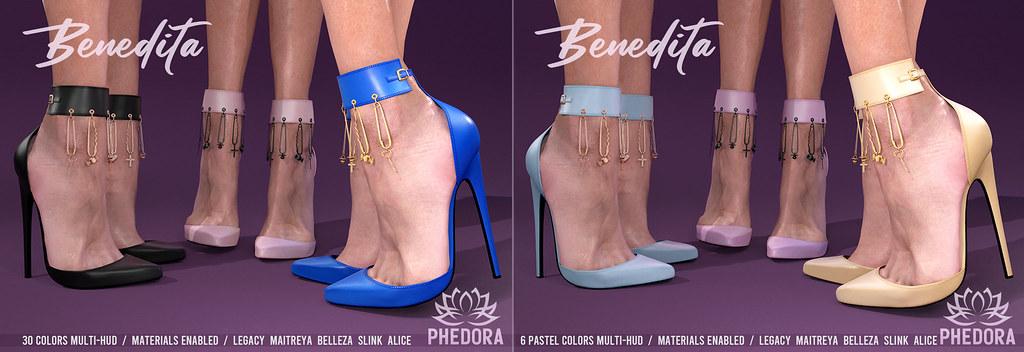 "Phedora for Kinky Event ~ ""Benedita"" Heels ♥"