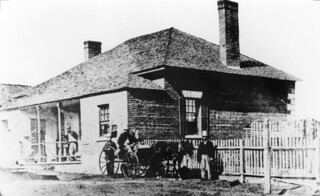 Surgeon's Cottage George Street 1850